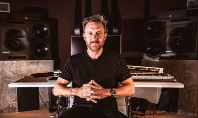 David Guetta en el Studio