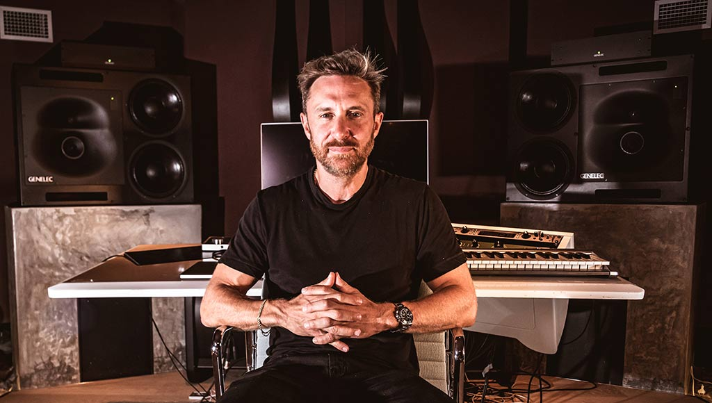 David Guetta en el Studio